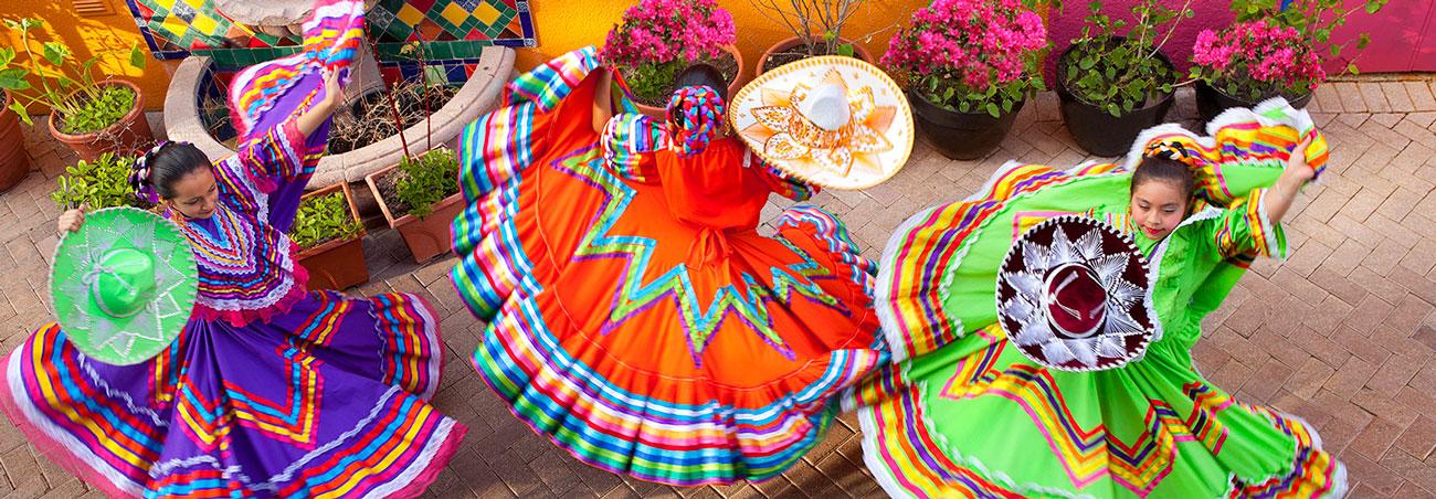Festive Dancers