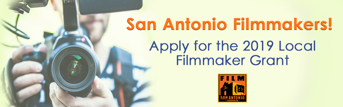 Apply for the 2019 Local Filmmaker Grant