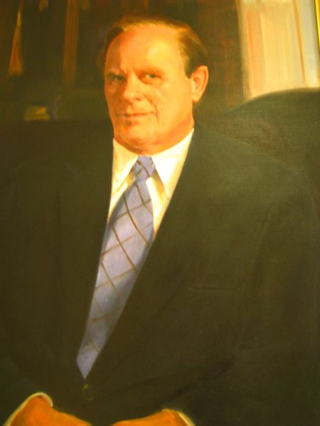 Mayoral portrait of Nelson C. Wolff.