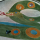 """Nani Falcone Park Skate Park Mural"" by San Antonio artist Katie Pell features a brightly colored painted mural in the design of a snake."