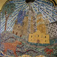 River Walk Mosaic...