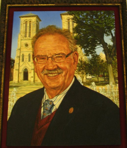Mayoral portrait of Phil Hardberger.