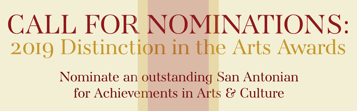 Distinction in the Arts Nomination