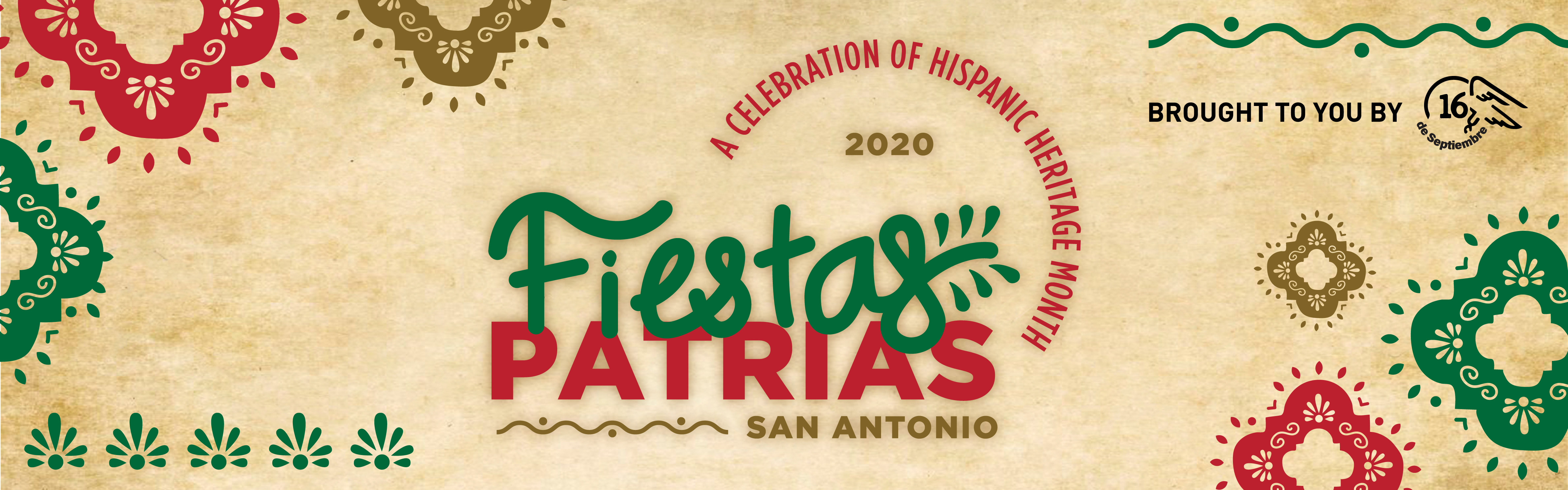Fiestas Patrias San Antonio: a celebration of Hispanic Heritage Month, brought to you by 16 de Septiembre.